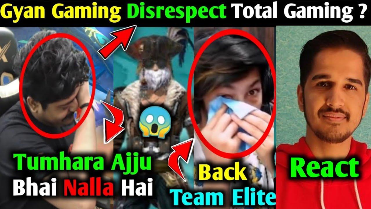 Gyan Gaming Live Disrespect Total Gaming?, Pahadi Gaming Return Team Elite, Skylord Copyright Strike