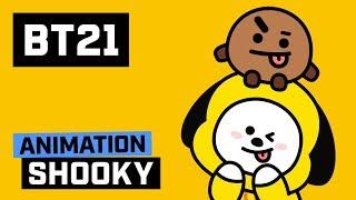 [BT21] SHOOKY! CHIMMY!