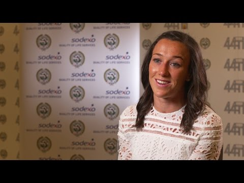 Lucy Bronze Interview After Winning Women's PFA Players' Player Of The Year