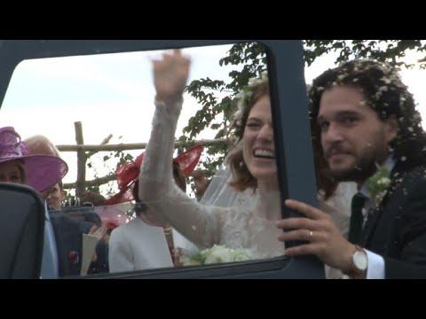 Game of Thrones wedding for stars Kit Harrington and Rose Leslie