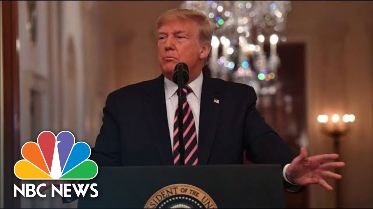 Donald Trump Takes Aim At 'Bad People' Behind Impeachment: Dirty Cops, Leakers, Liars | NBC News