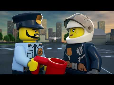 LEGO CITY 2019 Sets Product Animations Compilation: Fire, Police, Sky Police, Parachute and More!