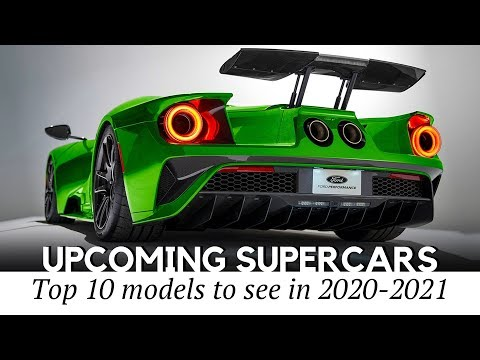 10 Latest Supercar Models To Renew The Class In 2020-2021 MY