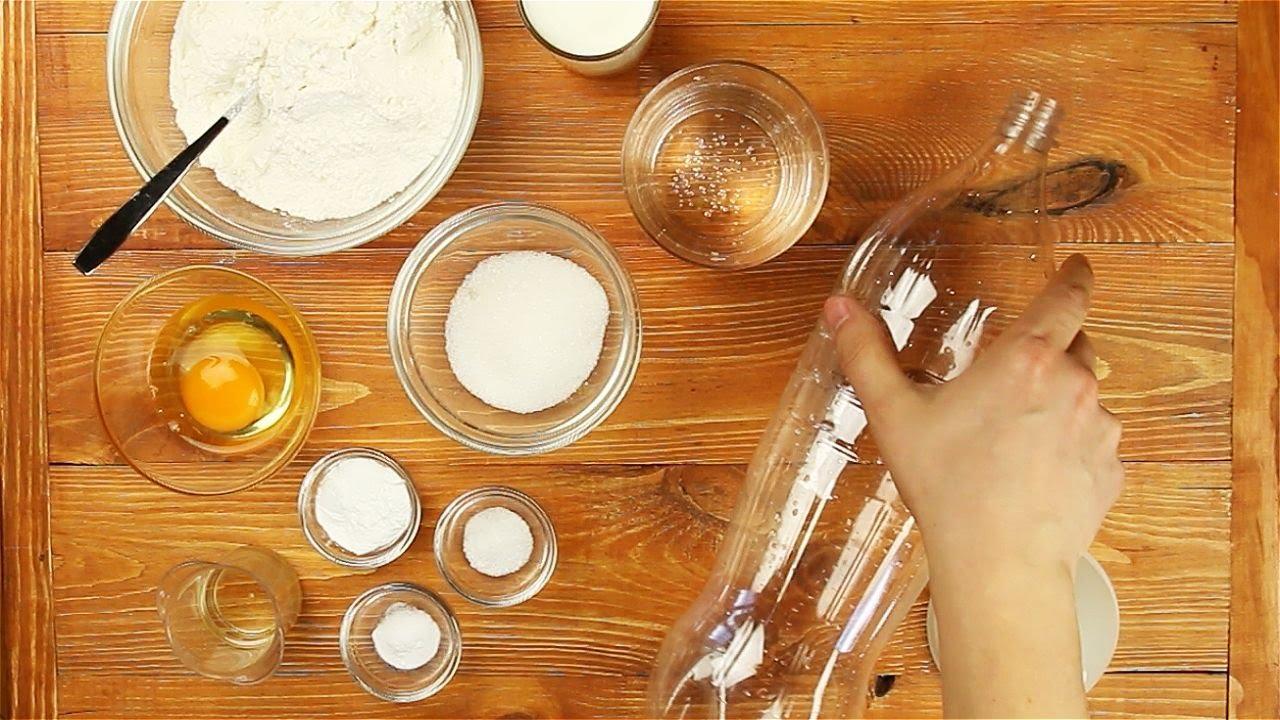 Блины в бутылке кулинарный рецепт.