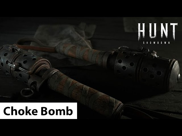 Choke Bomb | Hunt: Showdown / удушающая бомба