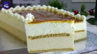 🎄Tarta helada de Turrón y Caramelo ✨ la más deliciosa y suave que has probado | @TonioCocina