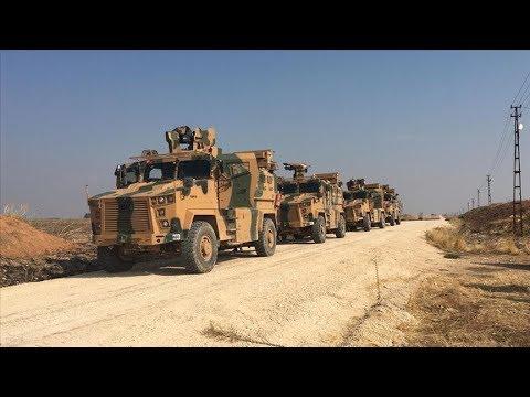 Турция и Россия проводят первое совместное патрулирование в Сирии