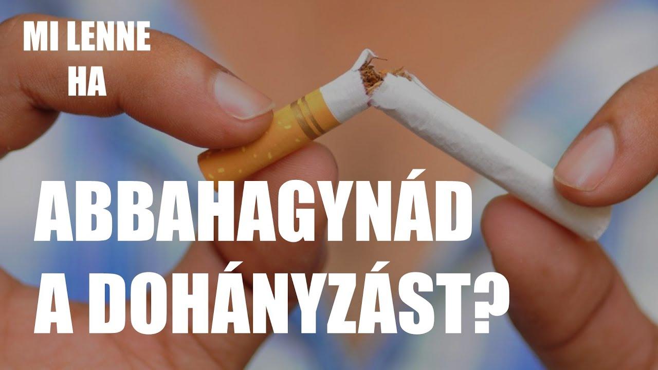 Hagyjuk abba az ivást és a dohányzást - bben.hu