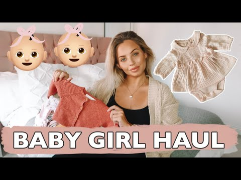 BABY GIRL CLOTHING HAUL | Lucy Jessica Carter