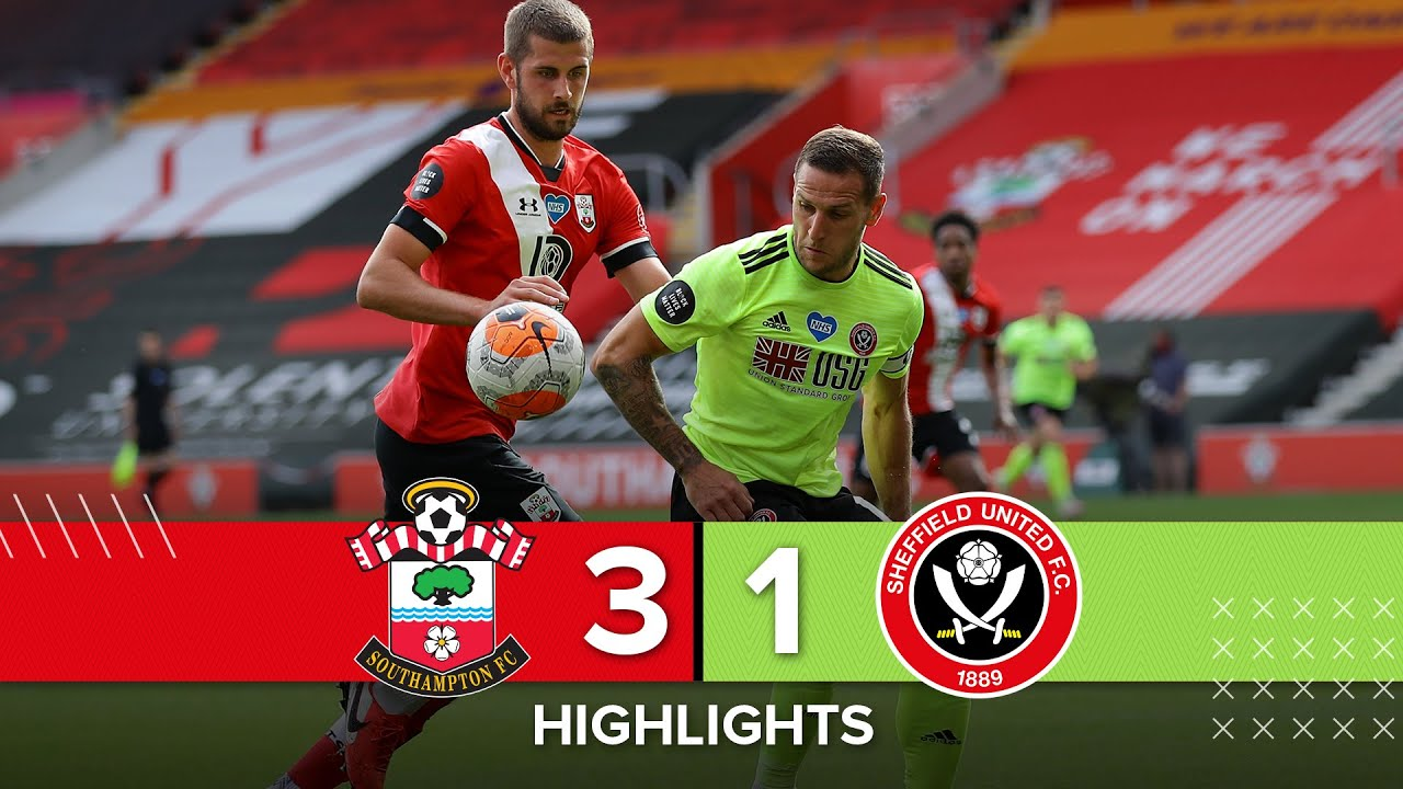 Саутгемптон  3-1  Шеффилд Юнайтед видео