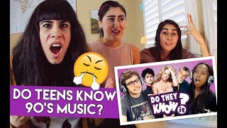 DO TEENS KNOW 90s MUSIC? (REACTION)