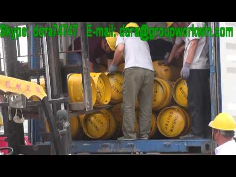 100L Cylinder Anhydrous Ammonia Export to Jordan.mp4
