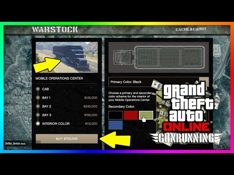 GTA ONLINE GUNRUNNING DLC SECRET FEATURES & HIDDEN DETAILS YOU MUST KNOW BEFORE BUYING THE NEW MOC!