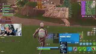 Ninja plays Fortnite with Diplo and Lil Xan | Funny Diplo moment