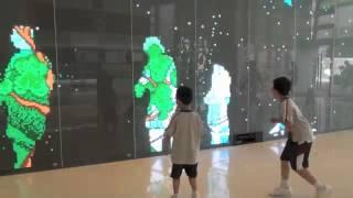 Domain Mall Interactive Wall Display
