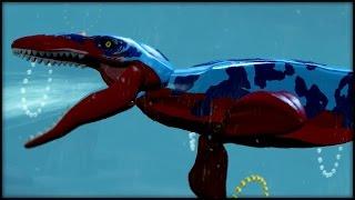 LEGO Jurassic World - WATER DINO! CUSTOM DINOSAURS!