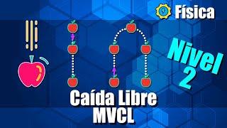 Caída Libre (MVCL) - Ejercicios Resueltos - Nivel 2