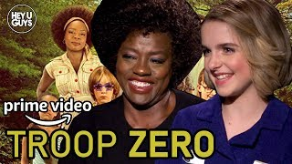 Viola Davis & McKenna Grace - Troop Zero Interview
