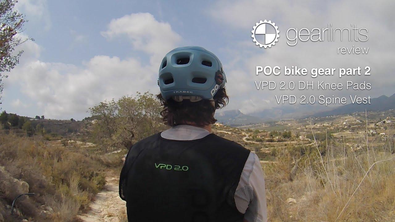 Poc Bike Gear Review Part 2 Vpd 2 0 Dh Kneepads Amp Vpd 2 0