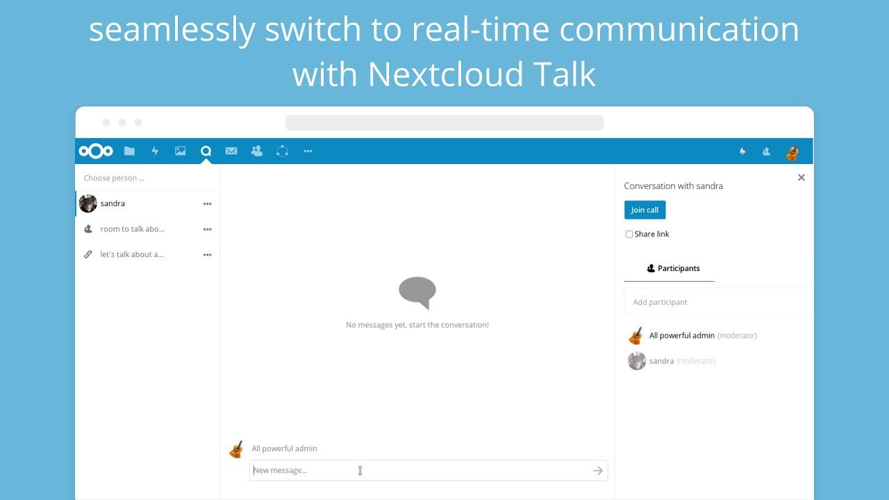 Sharing in Nextcloud – Nextcloud