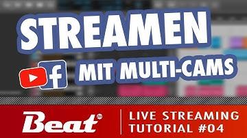 Tutorial: Live Stream für Facebook/Youtube (4/5) - Mehrere Kameras einbinden [mit Zoom & OBS Studio]