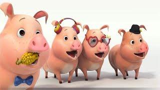 Ba bà đi bán lợn con, Xúc xắc xúc xẻ 💖LK nhạc thiếu nhi remix vui nhộn