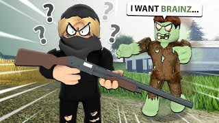 We Played A ROBLOX Zombie Survival Game... (Quarantine Z)
