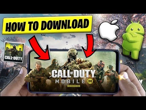 How To Download Call Of Duty On IOS/Android (COD Mobile Tutorial)