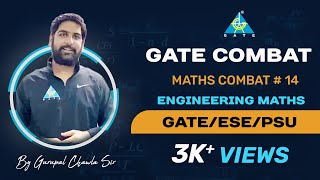 MATHS COMBAT #14 ... for GATE 2020