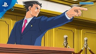 Phoenix Wright: Ace Attorney Trilogy - Launch Trailer | PS4