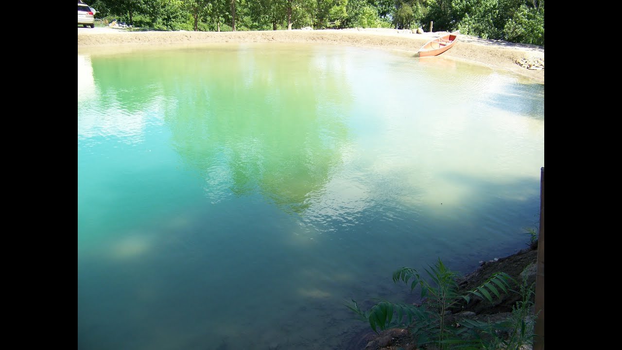 8 building your own private beach swimming pond early 2014