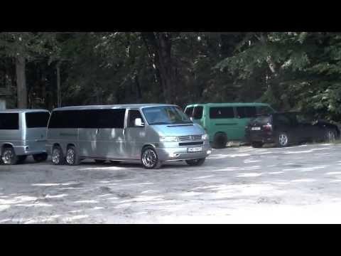 ЛИМУЗИН Volkswagen Transporter T4 с прицепом