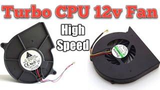 Turbo Fan  12v CPU Turbo Cooling Fan