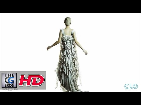 CGI Clothing Sim Demo : Virtual Fashion Show of Herritte Kim using CLO 3D & Marvelous Designer 2