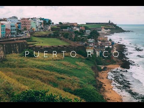 [4K] Puerto Rico SAN JUAN - Crisis Island