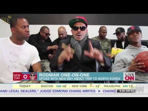Mike Epps Dennis Rodman CNN spoof - HILARIOUSZ!