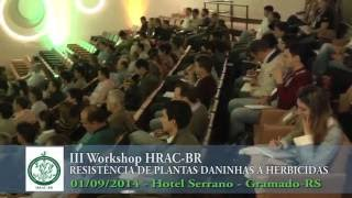 III Workshop HRAC-BR 2014