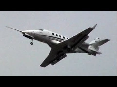 Rare Flight Display Prototype Grob G180 SPn (D-CSPN) - First Grob Business All-Composite Jet