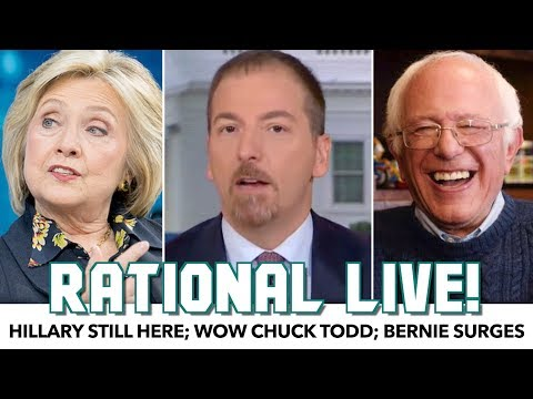 Chuck Todd's Stupidity Leaves Panel Speechless | Rational Live!