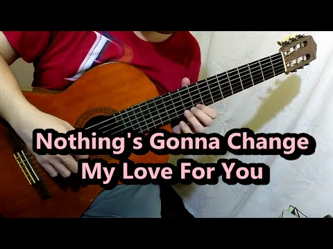 Nothings Gonna Change My Love For You George Benson Guitar Cover