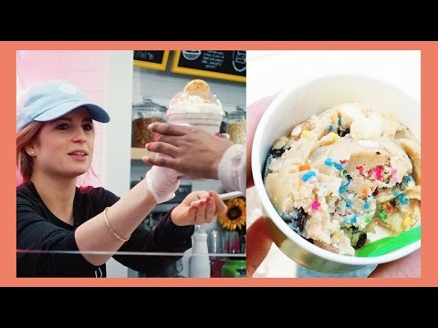 NYC RAW COOKIE DOUGH CAFE OPENING