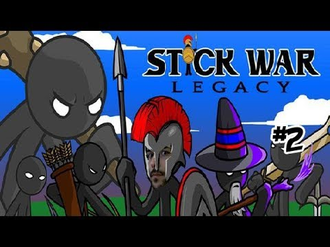 Army Golden vs Army Spearton 💛 STICK WAR LEGACY Huge Update