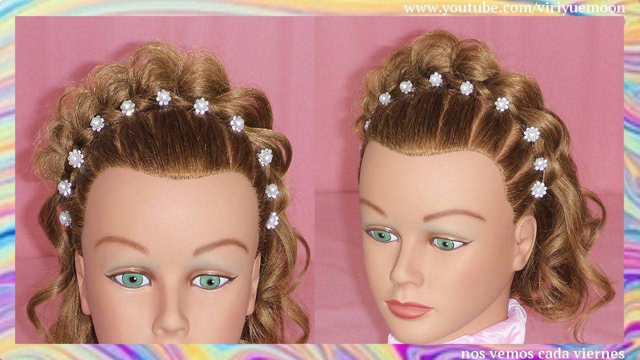 Peinados para cabello corto corona de princesa peinados faciles y rapidos viriyuemoon Pelo corto para ninas