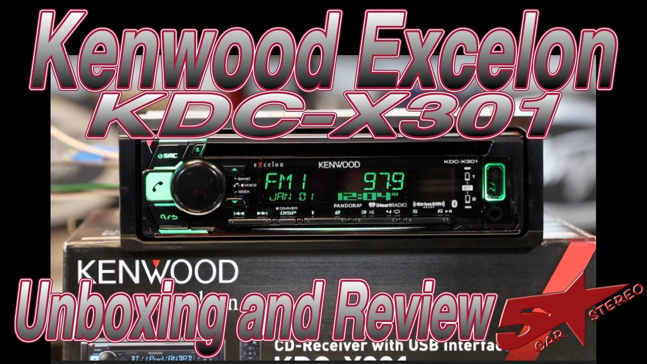 Kenwood Excelon KDC X301 unboxing and review on