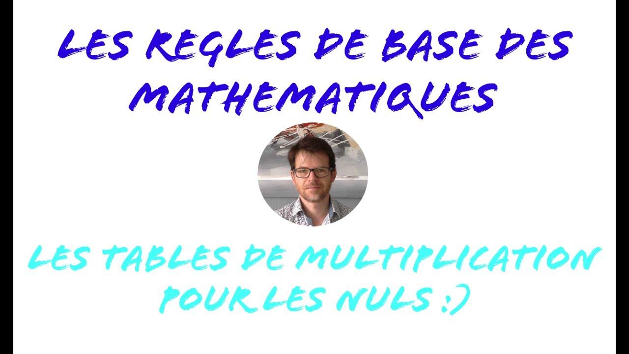 Les tables de multiplication pour les nuls youtube - Youtube table de multiplication ...