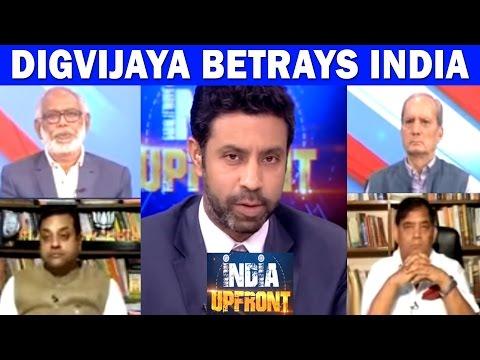 Digvijaya Singh's 'Samjhauta' With Pak? India Upfront With Rahul Shivshankar