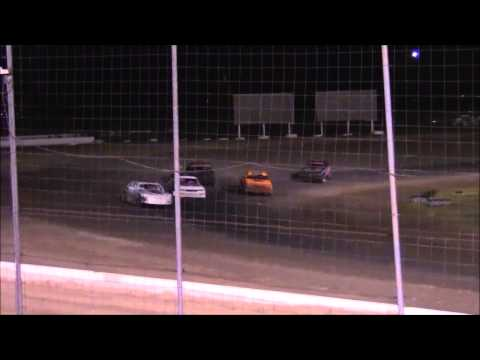 IMCA I Stocks at Lubbock Speedway 8-21-15