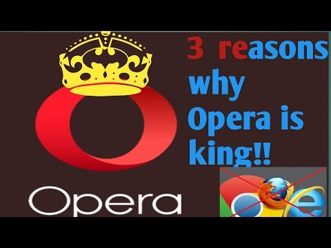Opera Web Browser!  3 reasons why i LOVE IT!!!!