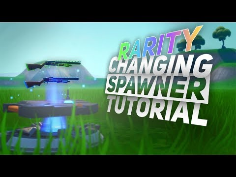 How To Make An ITEM SPAWNER That CHANGES RARITIES - Fortnite Creative Tutorial