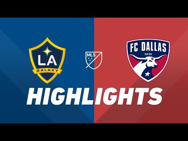 LA Galaxy vs. FC Dallas | HIGHLIGHTS - August 14, 2019